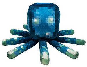 Nouveau 2020 Minecraft Earth Glow Squid 19 in (environ 48.26 cm) Oreiller Glow in the Dark plush
