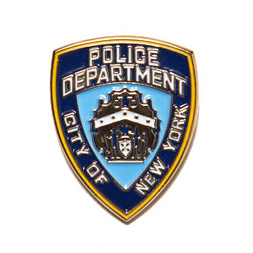 New NYPD Police Department City Of New York Small Lapel Pin Licensed