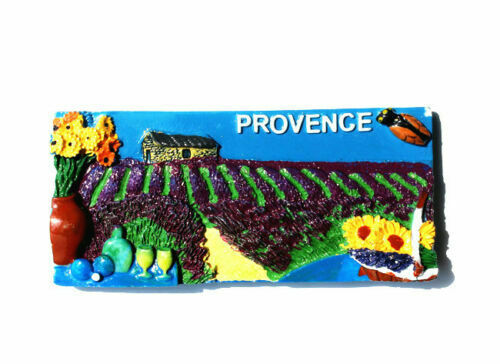 TOURIST SOUVENIR 3D FRANCE Famous City Paris Nice Cannes Provence FRIDGE MAGNET