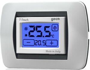 GECA 35311653 Termostato touchscreen a batterie T-Touch