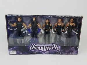 WWE Mattel UNDERTAKER 5 Pack Toys R Us Exclusive Thank You Taker