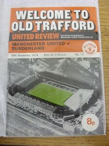 30111974 Manchester United v Sunderland Manchester United 2nd Division Season - Birmingham, United Kingdom - Returns accepted within 30 days after the item is delivered, if goods not as described. Buyer assumes responibilty for return proof of postage and costs. Most purchases from business sellers are protected by the Consumer Contr - Birmingham, United Kingdom