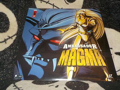 Ambssador Magma Vol 4 Neu Originalverpackt Laserdisc Ld Ep 8 & 9 Gratis Versand Kaufen Sie Immer Gut