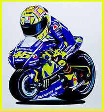 Valentino Rossi moto adesivo stickers Rossi Vale caricature motogp adesivi 46