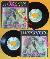 LP 45 7'' UNDISPUTED TRUTH You+me=love 1976 italy WARNER W 16804 no cd mc dvd(*)
