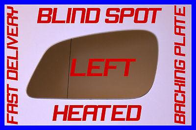 leoboone C/ôt/é passager gauche N//S Grand Angle Wing verre miroir pour PEUGEOT 206 1998-2010