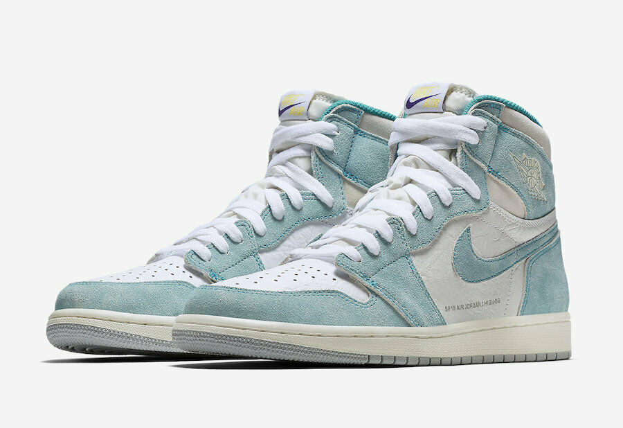 Nike Air Jordan 1 Retro High OG SZ 12 Turbo Green Sail White 555088-311
