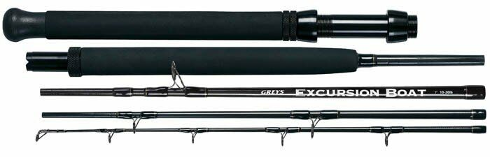 grigios Excursion Travel Boat asta 7'ft 10 to 20 pound line test
