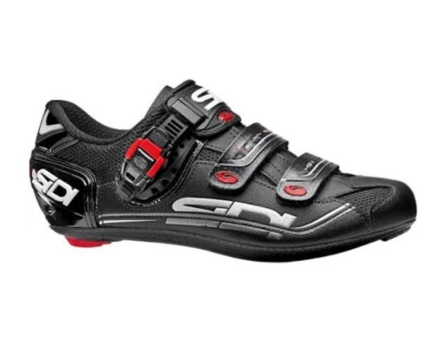 b2a60daccc36a SIDI Genius 7 Carbon Women Road Cycling Shoes Black Vernice Size 37 ...