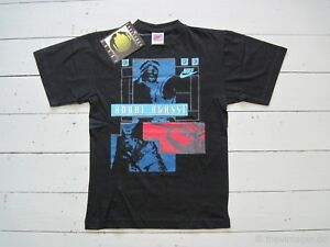 3a0cdfc8 NOS NWT 90s NIKE CHALLENGE COURT Andre Agassi Vintage T-Shirt XS ...