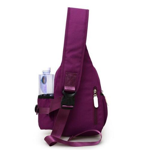 Women Multi-Color Travel Messenger Shoulder Bag Sling Chest Pack 6A