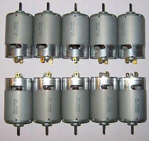 10-X-Mabuchi-555-12V-DC-Motor-Printer-Portable-Drill-Robotics-Hobby-Motors