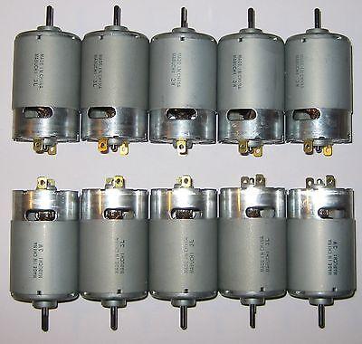 5 X Mabuchi 555 12V DC Motor Printer Portable Drill Robotics Hobby Motors