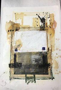 Meier Herbert 1959 Haslach ; Speicher 2 Ii 12/91 Collage Expressiv plahü Art