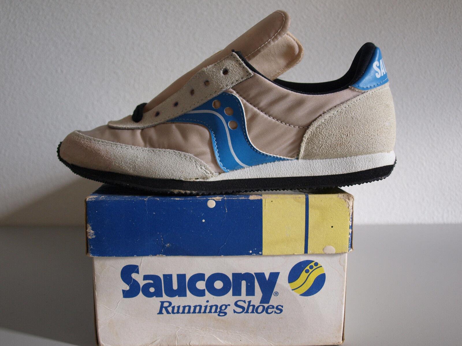 Saucony Streak 1980 Vintage nos para Mujer 5.5 Nuevo Y en Caja Especial De Colección Nuevo Viejo Stock