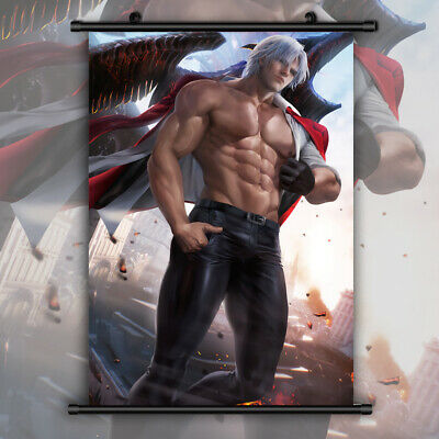 Anime Dante Devil May Cry Poster High Quality Prints