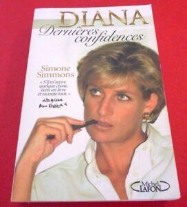 Soft-Cover-French-Book-Diana-Dernieres-Confidences-Simone-Simmons