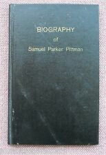 Samuel Parker Pittman ~ Biography ~ Church of Christ ~ 1954 HB ~ SIGNED