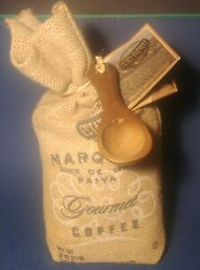 2 lbs of rare Marques de Pariva Brazil Arabica - natural Dark Roast Coffee Beans