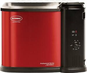 Butterball-MB23012718-Electric-Fryer-Red