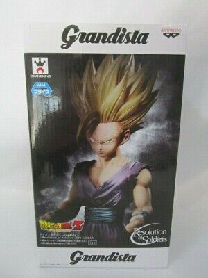 Dragon Ball Z SON GOHAN Figure GRANDISTA Resolution of Soldiers Japan Authentic