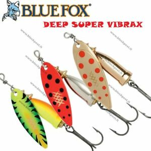Blue-Fox-Rapala-Deep-Super-Vibrax-Spinner-Fishing-hard-lure-Different-colors