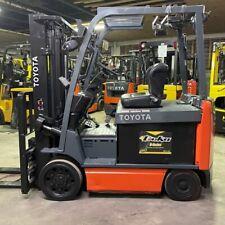 2016 Toyota 8fbcu32 6500lbs Used Forklift Withsideshift Amp Fork Positioner