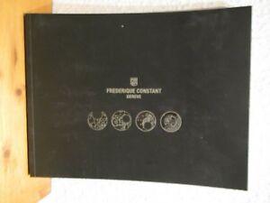 Frederique Constant Geneve - Katalog 2012 / 2013 Hohe QualitäT Und Preiswert