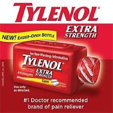 TYLENOL Extra Strength Acetaminophen; 325 (500 mg) Caplets, Pain & Fever Relief