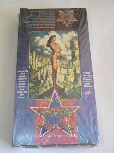 New American Pinups Comic Images Box of Cards