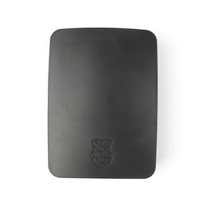 Original Officiel Case Boîtier Box Shell Cover Pour Raspberry Pi 3 Modèle Noir ,