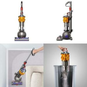Dyson-Small-Ball-Multi-Floor-Upright-Vacuum-Cleaner-Iron-Yellow