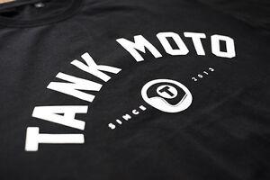 TANK-MOTO-T-Shirt-Harley-Triumph-XS650-ironhead-XL-BMW-Tracker-rocket-BS