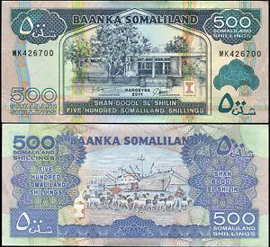 Somaliland 500 Shillings. NEUF 2011 Billet de banque Cat# P.6e