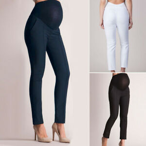 7d5b8a7b19bdb Image is loading Maternity-Belly-Pregnant-Leggings-Pants-Trousers-High-Waist -