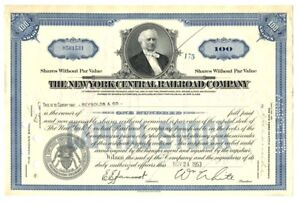 B67897-1953-STOCK-CERTIFICATE-100-shares-THE-NEW-YORK-CENTRAL-RAILROAD-COMPANY