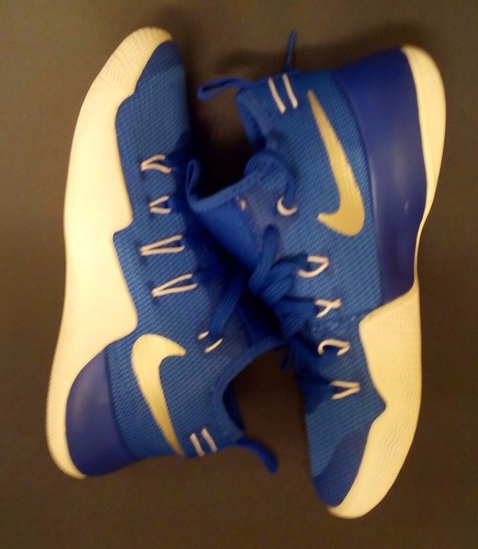 New Nike Hyper-shift TB Basketball Shoes  Size 6 BLUE