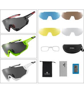 ROCKBROS Radbrillen Fahrradbrille Schutzbrille Polarisierte Sonnenbrille 3 Farbe