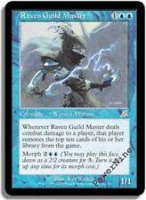 4 PLAYED Raven Guild Master - Blue Scourge Mtg Magic Rare 4x x4