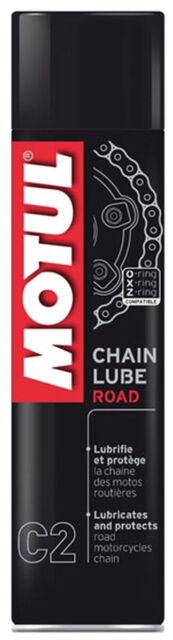 Motul C2 Lubricante de Cadena Road Chainspray 400ml Incoloro ( 20Eur / L)