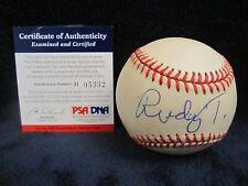 Rudy Tomjanovich (Basketball Coach) Autographed ONL (Coleman) Baseball–PSA Cert