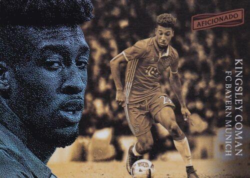 #20 Kingsley coman 2016-17 Panini aficionado Soccer Walker