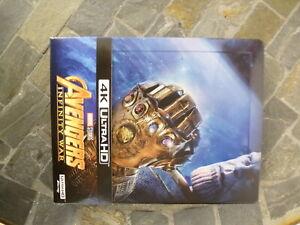 Avengers-Infinity-war-coffret-Blu-ray-4K-Ultra-HD-Blu-ray-livret