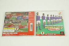 WORLD SOCCER JIKKYO WINNING ELEVEN 3 Final PS1 KONAMI Playstation Japan USED