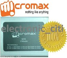 Original Quality Battery For Micromax Bolt Q339 Mobile with 1700mAh