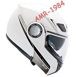 Casque Moduler Givi Bianco Hx08fb910 Avec Visière Parasol Intégré X
