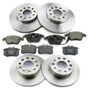 Bremsscheiben-Bremsbelaege-vorne-hinten-288-253mm-Audi-A3-8P-Seat-Skoda-VW
