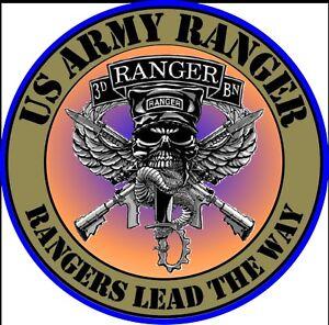 U S Army Rangers Lead The Way Car Window Killer American
