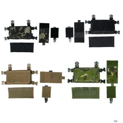 TMC CACCIA Tactical Airsoft Vest MODULARE petto rig Set TMC3115-RG