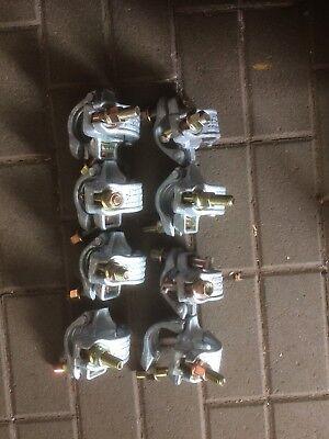 8 X Feste Gerüstschelle Durchmesser 48 Neu